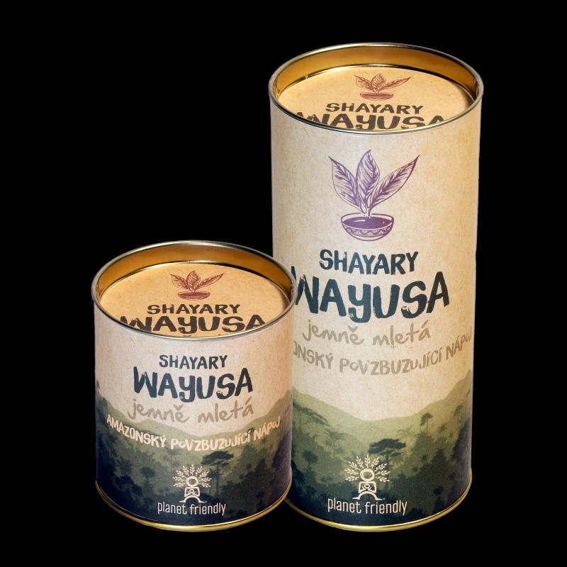 Wayusa jemně mletá